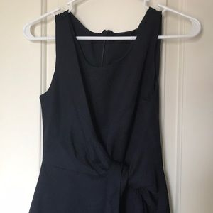 The Limited navy dress with tie waist (0)